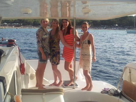 clientes de alquiler catamaran Ibiza