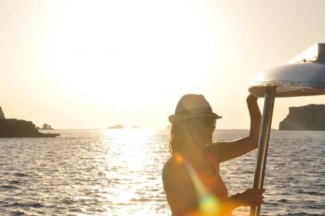 Navegando entre la isla del bosque y Conejera