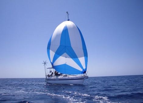 charter velero en Ibiza