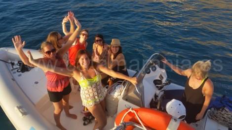 charter barcos patron ibiza