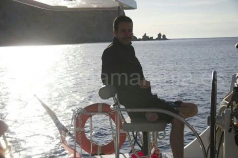 patron de alquiler de barcos en ibiza